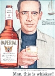 Imperial Whiskey - Patrick Ellam Ad Sheet