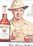 Chuck Meyer - Imperial Whiskey Ad Sheet
