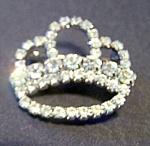 Rhinestone Crown Shape Brooch