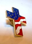Clutch Back Patriotic Pin