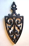 Cast Iron Trivet, Cone Shape