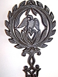 Cast Iron Trivet, Eagle Design