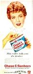 1957 Chase & Sanborn Coffee Ad