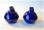 Cobalt Blue Pottery Shakers