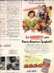 Franco-american Ad Sheet