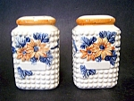 Range Size Shakers, Pottery, Hand Decorated