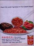 Van Camp's Pork & Beans Ad Sheet
