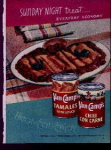 Van Camp's Tamales Ad Sheet