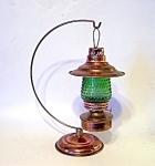 Hanging Copper Lamp, Lantern,