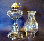 Glass Kerosene Lamp, Chimney