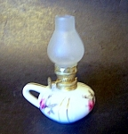 Mini Oil Lamp Frosted Chimney