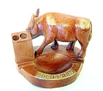Water Buffalo Pen Holder, Ashtray