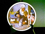 Norman Rockwell Mothers Day Plate