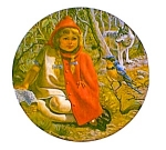 Storybook Collection. Red Riding Hood Plate