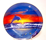 Spring Of The Dolphin Plate, Delmary Dennis Artist