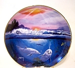 World Of The Dolphin Ltd. Ed. Plate Delmary Dennis