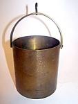 Brass/copper Grain Bucket,
