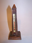 Washington Monument Thermometer, Metal