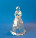Ice Blue Carnival Bell Imperial Glass