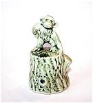 Pottery Monkey Bell