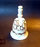 Gold Decorated Bell Porcelain