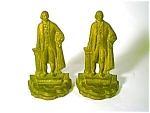 Figural Bookends George Washington