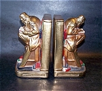 Marion Bronze Polychrome Bookends