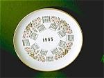 Calendar Plate 1965