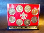 1977 Scout Jamboree Coin Collection