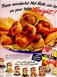 Duff's Hot Roll Mix Ad Sheet