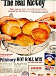 Pillsbury Hot Roll Mix Ad