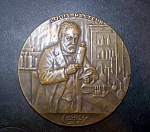 Louis Pasteur Medallion