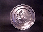 Pewter Plate, Angel Trademark