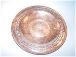 Silverplate Round Tray