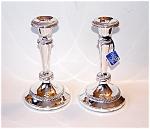 Silverplate Candlesticks, Candleholders