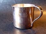 Silver Plate Childs Mug