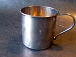 Childs Mug, Silverplate Oneida Community