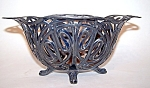 Silverplate Bowl, Footed, James W. Tufts Signed