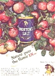 Morton's Salt Ad Sheet
