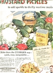 Colman's Mustard Ad Pickle Recipe