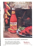 Snider's Chili Pepper Catsup Ad Sheet