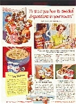 Borden's Products Ad Sheet
