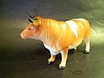 Bull Figurine Porcelain