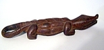 Carved Wood Alligator Kenya