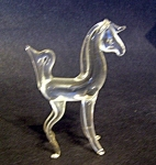 Blown Glass Unicorn