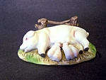 Mother Pig And 4 Piglets, Figurine