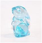 Brian The Bunny Figurine, Blue