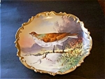 Limoges, France Plaque, Plate, Bird