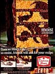 1966 Duncan Hines Cake Ad Sheet