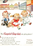 1954 Campbells Soup Kids Ad Sheet